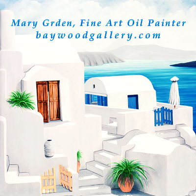 Mary Grden Fine Art Oil Painter Baywood Gallery